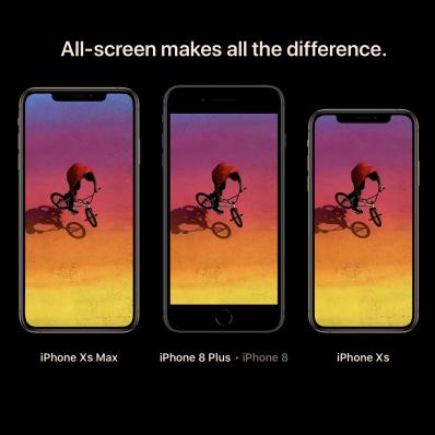 iPhone Xs MAX für etwa 1.900 EUR
